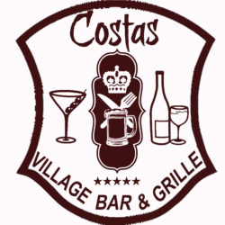 Costas Village Bar : NOW OPEN.