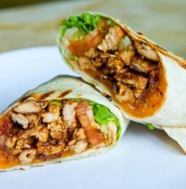 bbq-chicken-wrap
